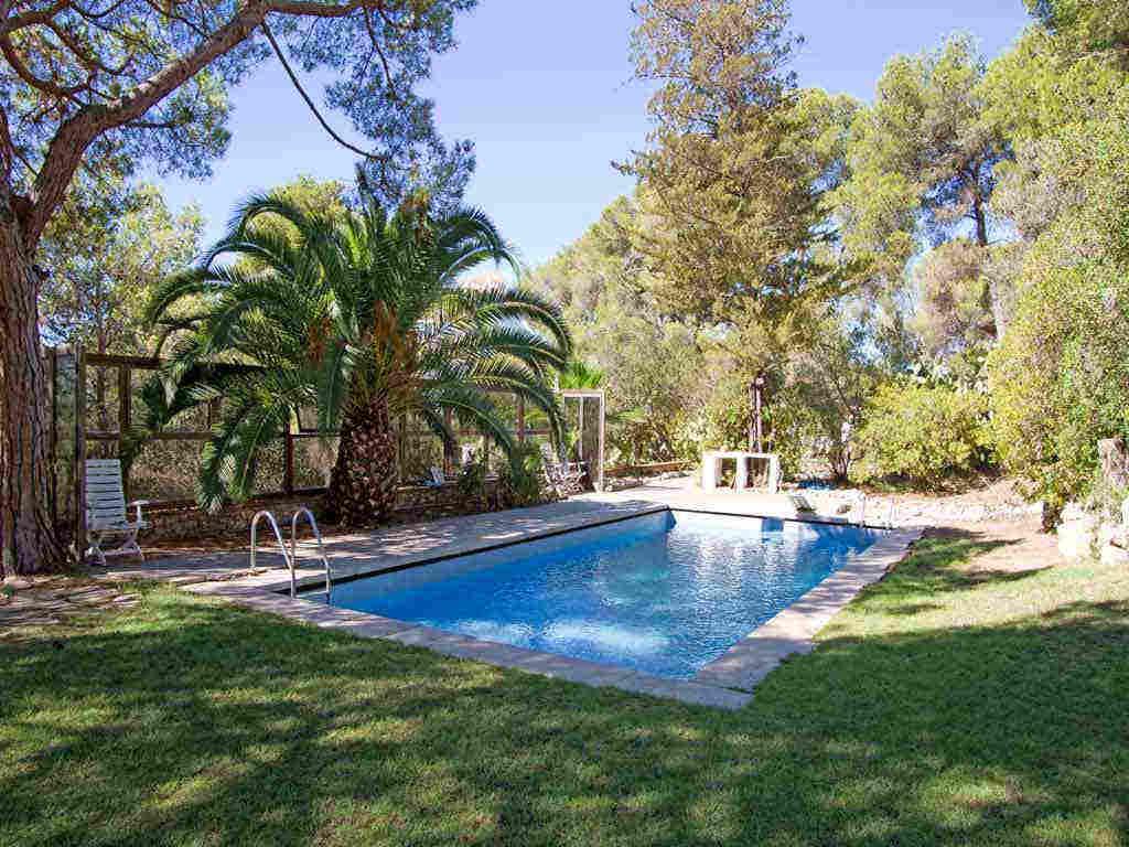 Villa de vacances à Sitges proche de Barcelone: jardin