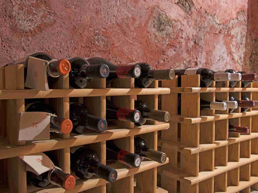 Holiday Sitges villa near Barcelona: wine cave