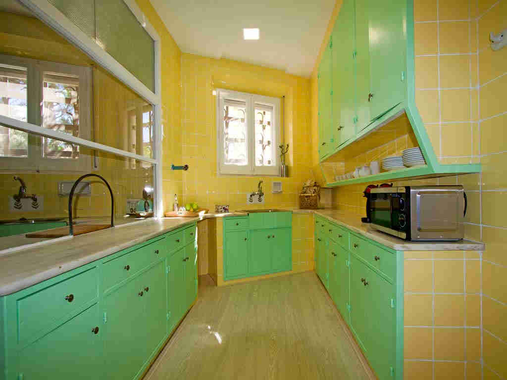 Casa en sitges cerca de barcelona: bonita cocina