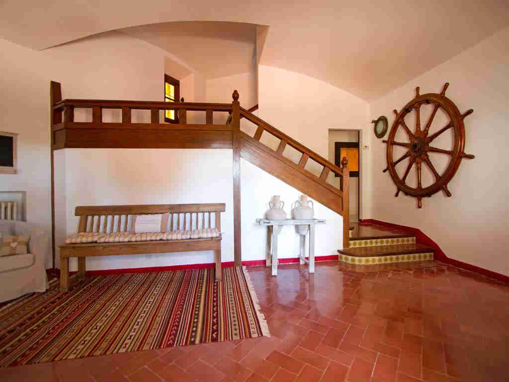 Casa en sitges cerca de barcelona: decoracion marítima