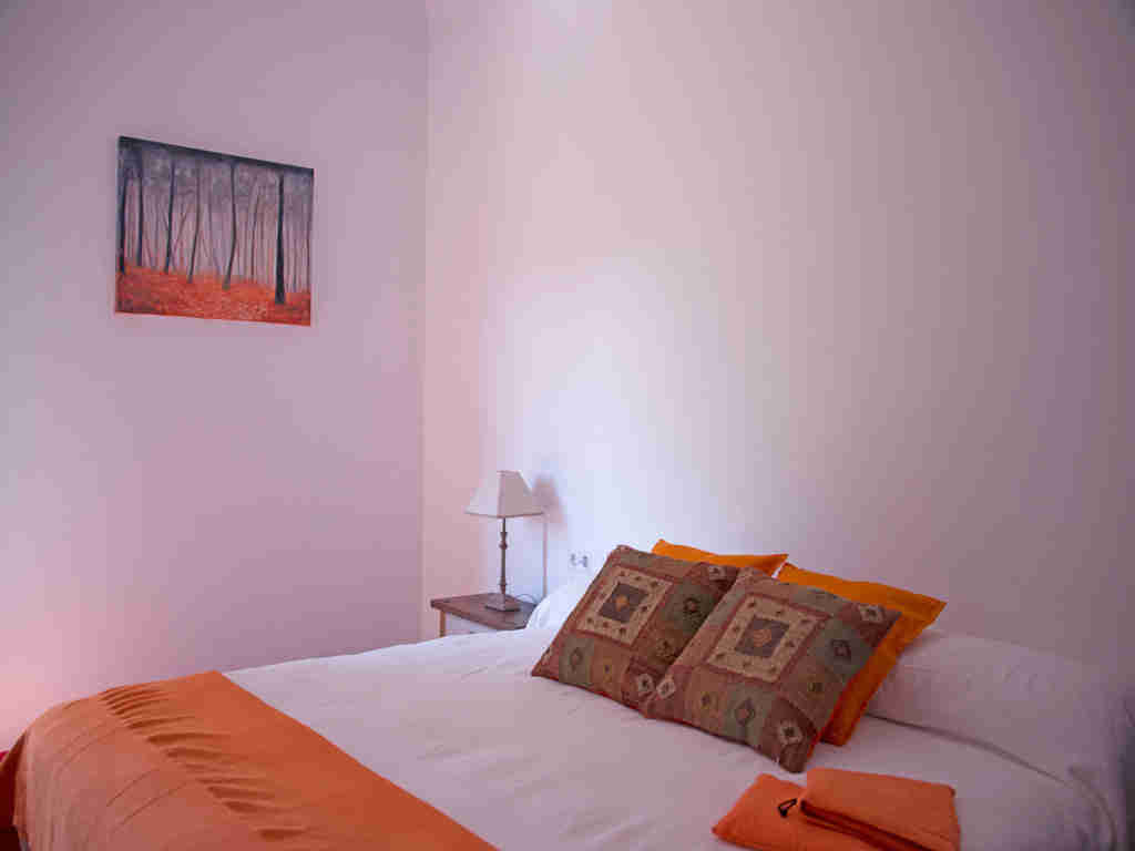 Holiday Sitges villa near Barcelona: bedroom for 2