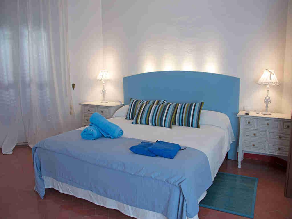 Casa en sitges cerca de barcelona: habitacion doble