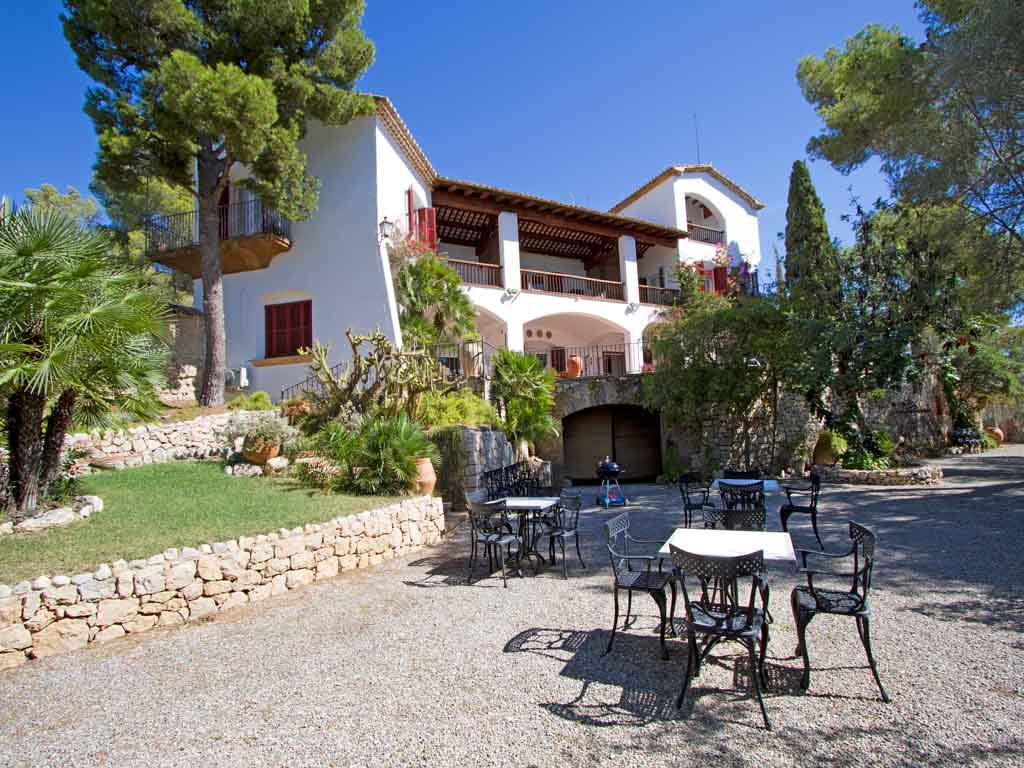 Holiday Sitges villa near Barcelona in Spain.