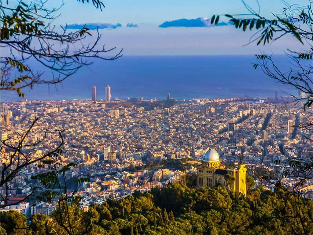 vacaciones de verano en Barcelona: vistas.