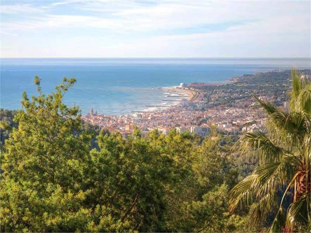 chalet para vacaciones en Sitges.