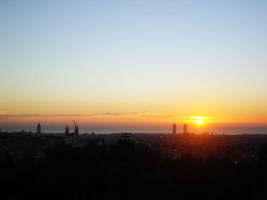 La nuit à Barcelone