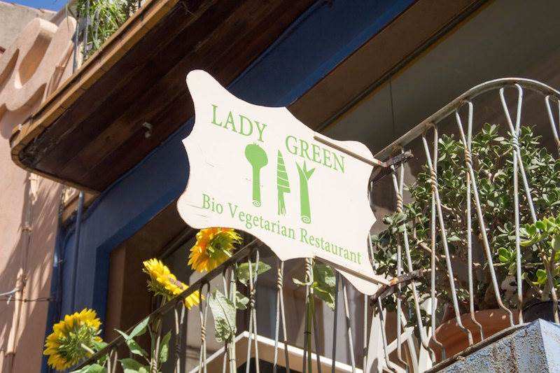 Restaurantes vegetarianos en Sitges: Lady Green Sitges