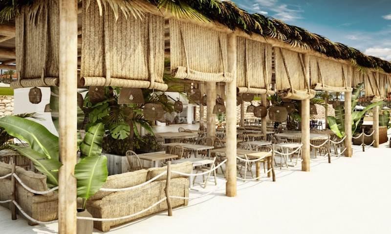 Beach Club of Sitges in Terramar