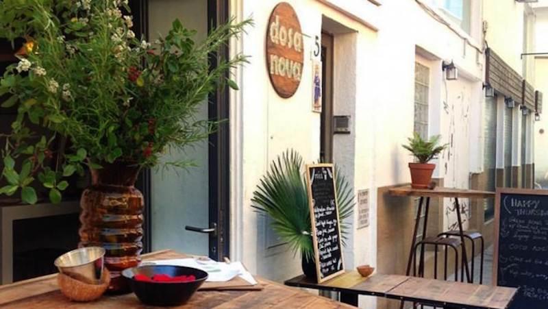 Restaurantes vegetarianos en Sitges: Dosa Nova