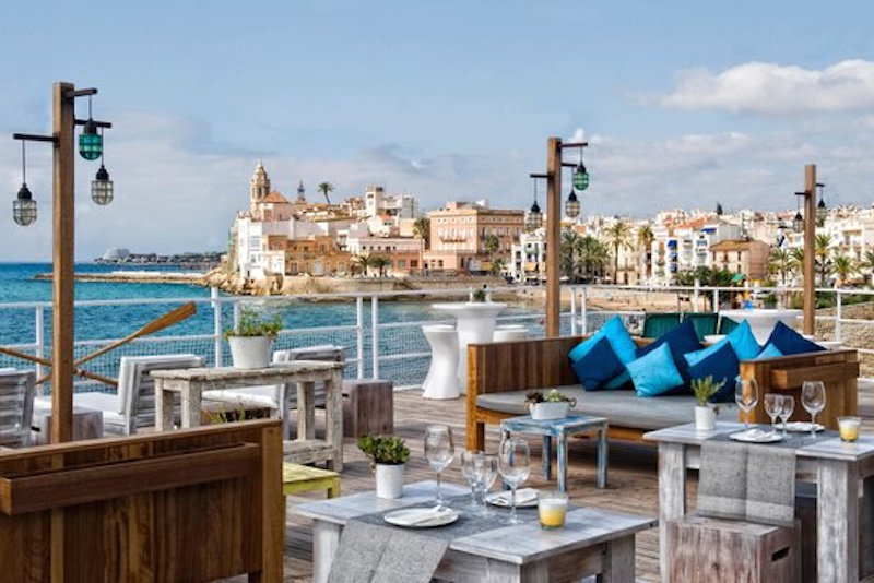 Beach Club de Sitges: Vivero