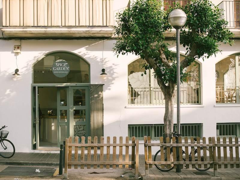 Restaurantes vegetarianos en Sitges: Spice Garden Sitges