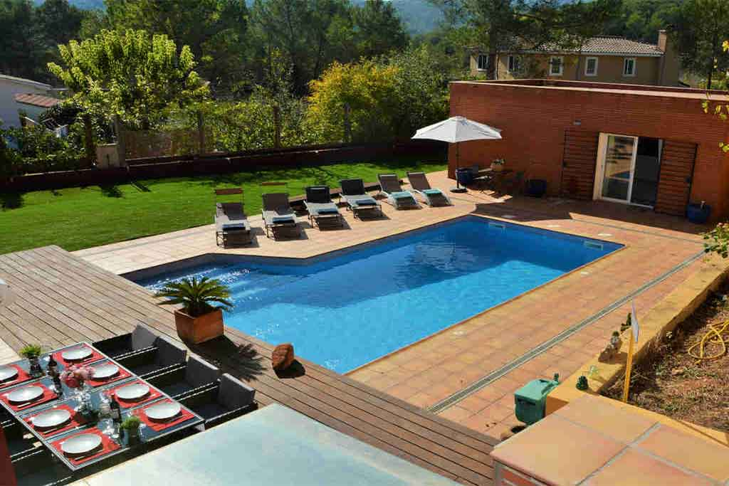 Villas sitges con piscina
