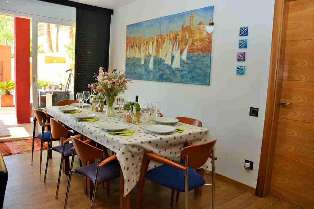 table intérieure pour repas