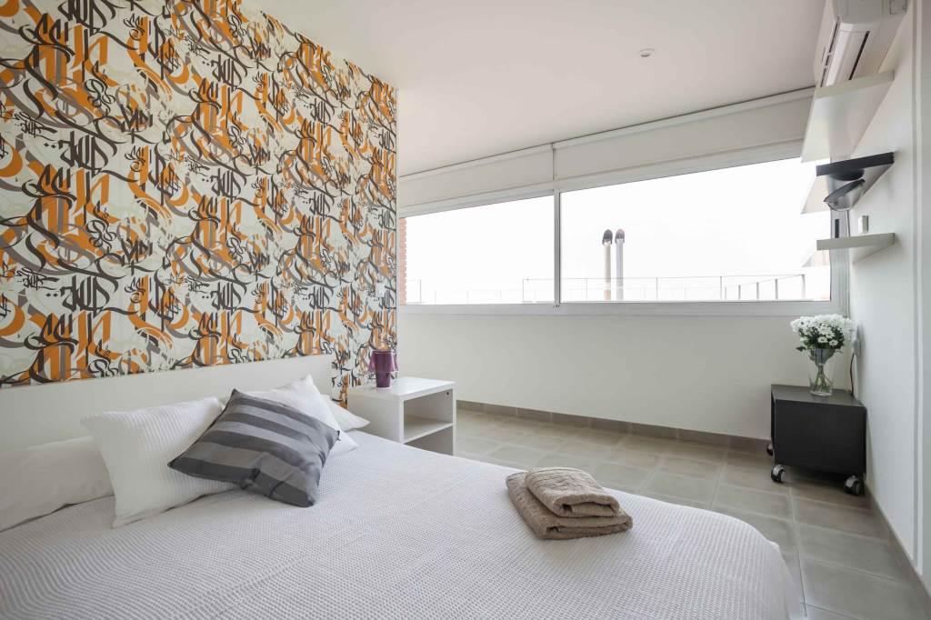 Villa Sitges Mariposa bedroom for 2