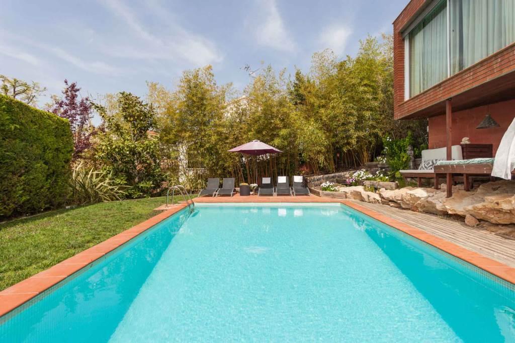 Villa Sitges Mariposa piscina 9*5
