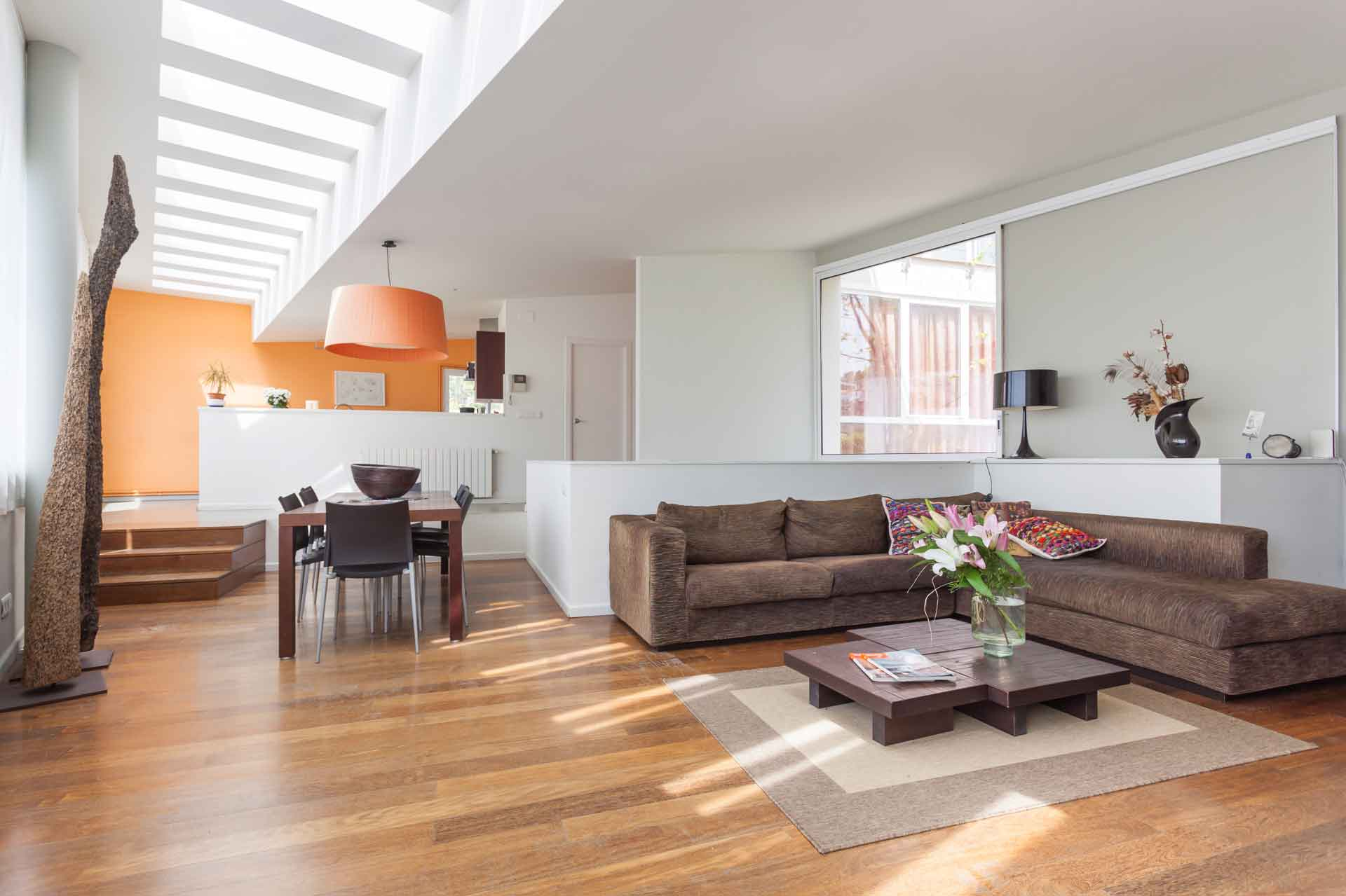 Villa en sitges sala de estar