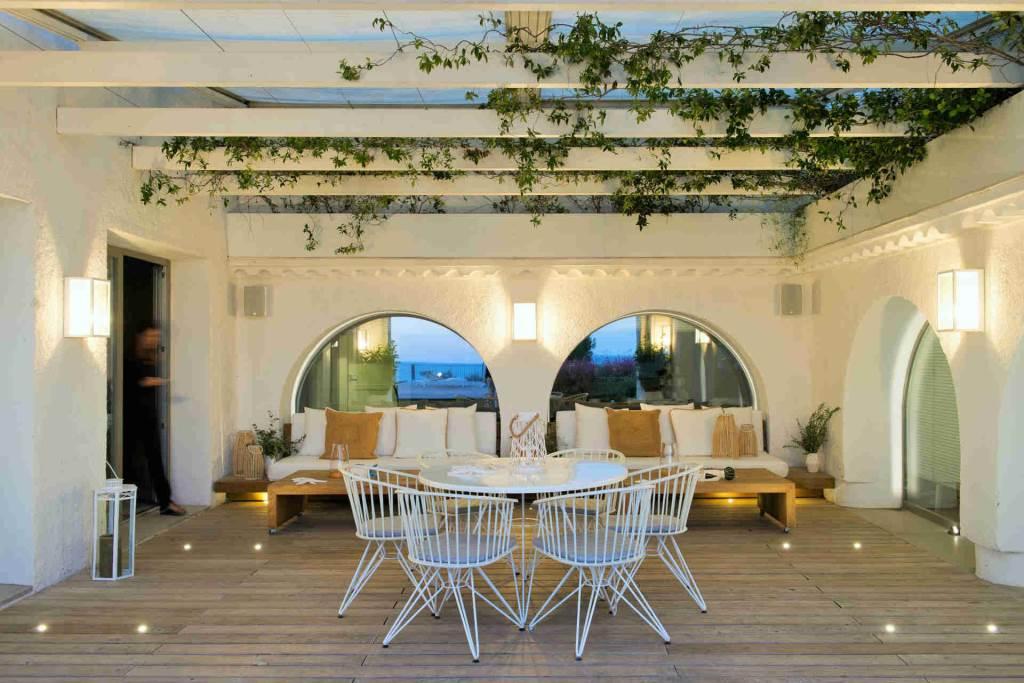 Villa Sitges Casa del Mar: terrace lounge
