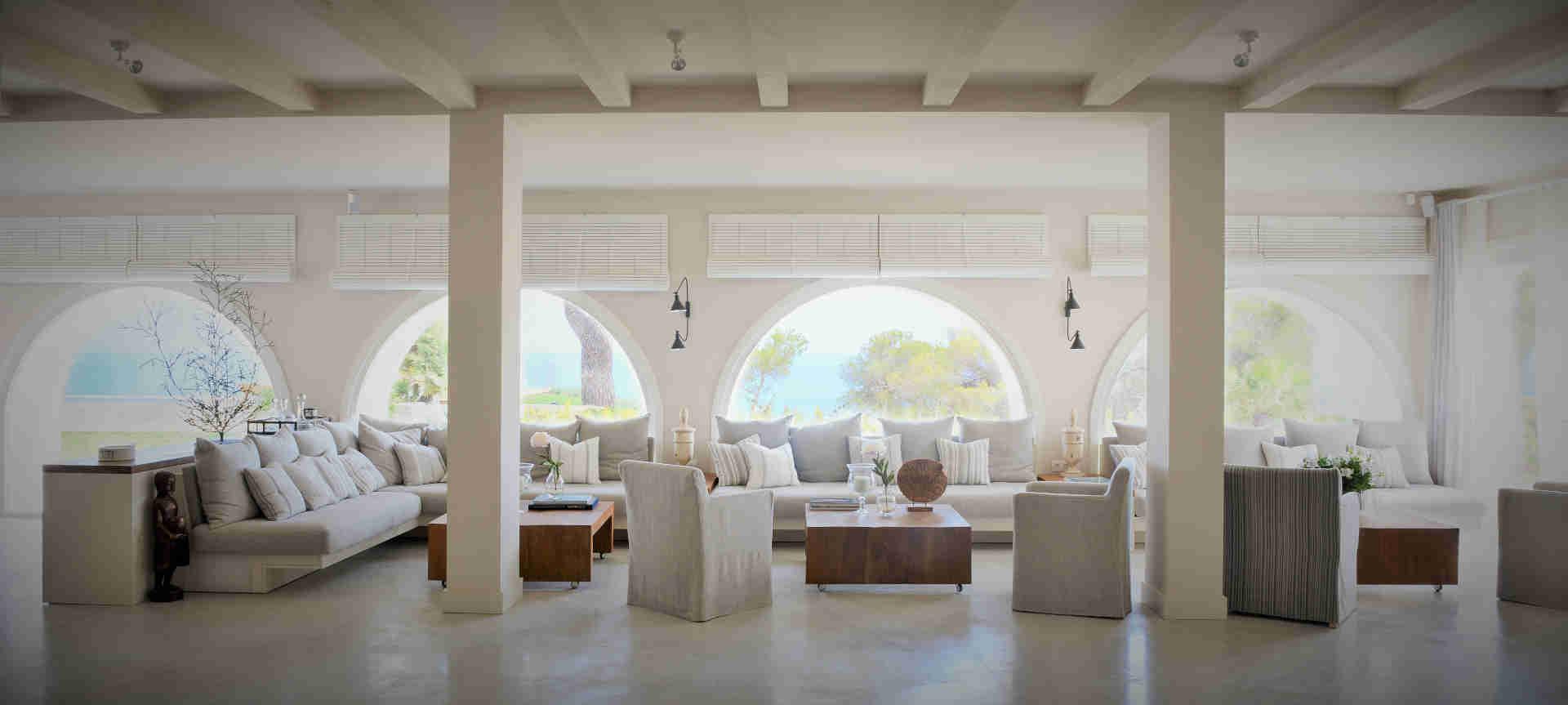 Villa Sitges Casa del Mar: interior spaces