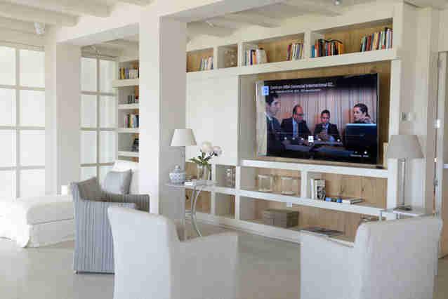 Villa Sitges Casa del Mar: tv room