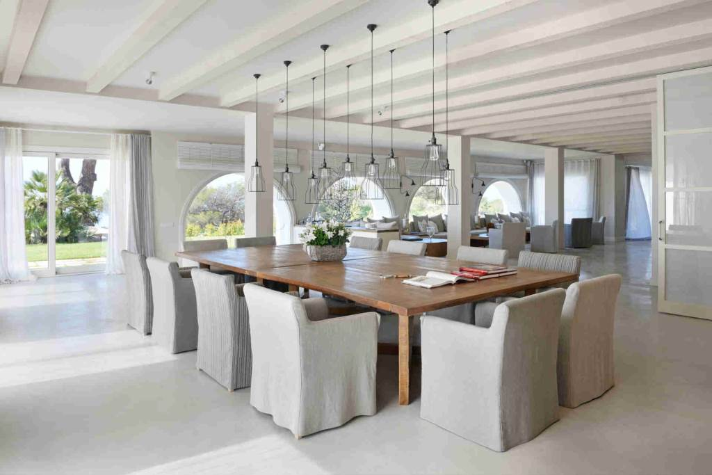 Villa Sitges Casa del Mar: dining room