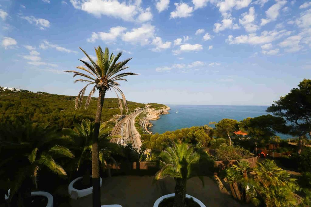 Villa Sitges Casa del Mar: surrounding