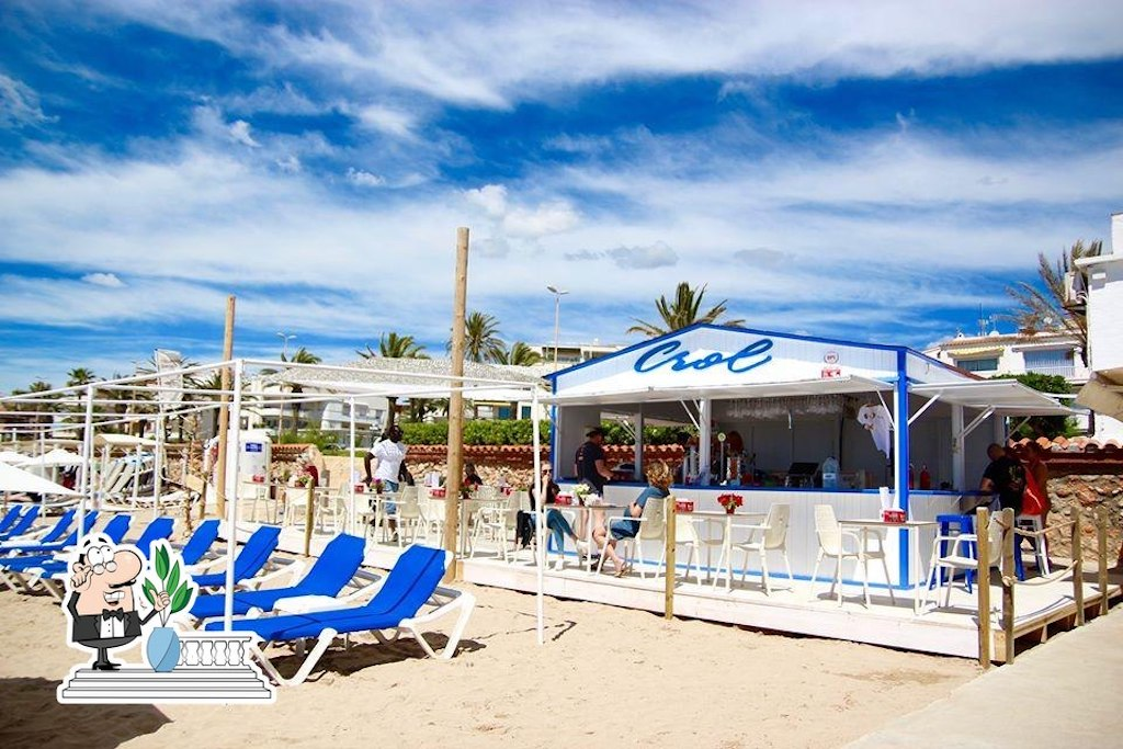 Chiringuitos Cool en Sitges: Crol Beach Club